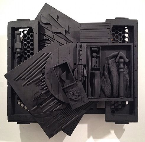 Louise Nevelson, Mirror Shadow XXXIX  Art Experience NYC  www.artexperiencenyc.com