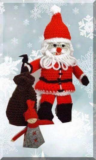 Häkelanleitungen Und Austausch Sie Ist Da Die Weihnachtsmann