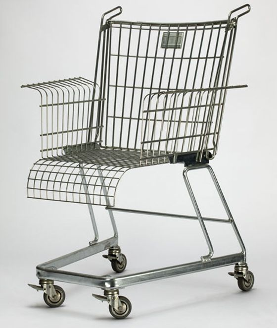 Trolley chair, the posh students way of getting home after being out on the lash.