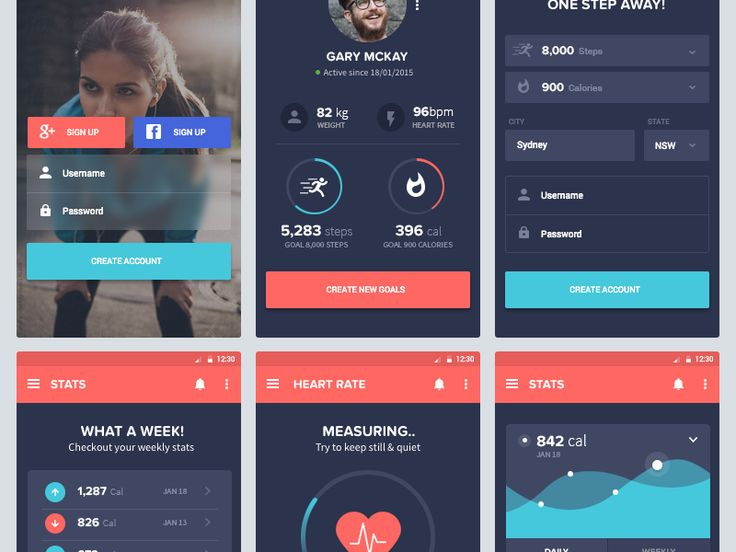 Here are some of the UI screens I have been working on. Feedback is welcome :) don't forget to click 'L'