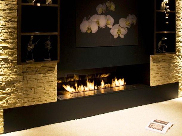 Bioethanol virtual fireplace