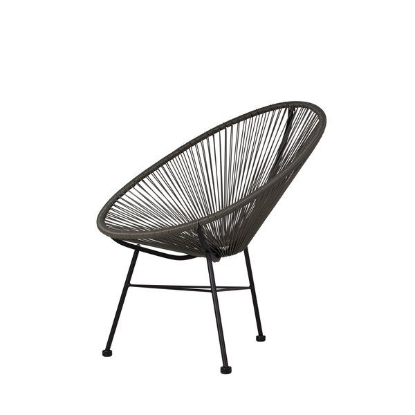 Based on time-honored Mayan hammock weaving technology, this side chair is an indoor/outdoor lounge chair that unifies tradition with innovation and harmonizes the function of ergonomic comfort with retro-modern aesthetic form. The side chair is in every way cool. Its weave perfectly cradles the body within its clean lines without suffocating and offers a character of casual sophistication to every home or institution.