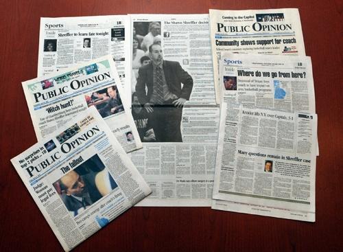 PO coverage: Coach Shreffler, Po Coverage