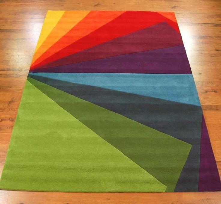 Colour Festival 4080/61 Multi-Coloured Rugs | Modern Rugs