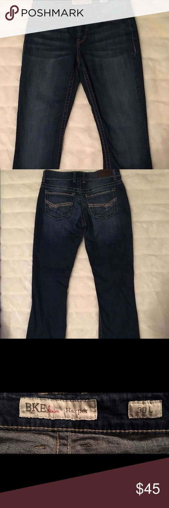BKE Jeans from the buckle store EUC BKE Jeans style Harper 30 L BKE Jeans Boot Cut
