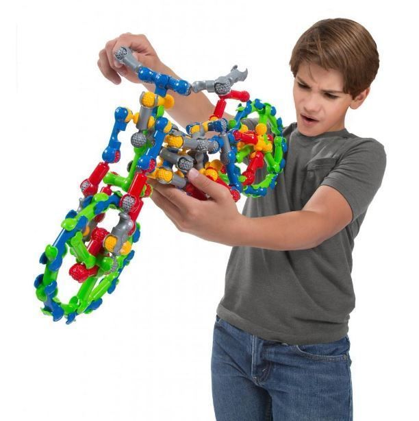Building Sets For Kids Boys Girls Educational Ball & Socket Construction Pieces  #ZOOB #CONSTRUCTION