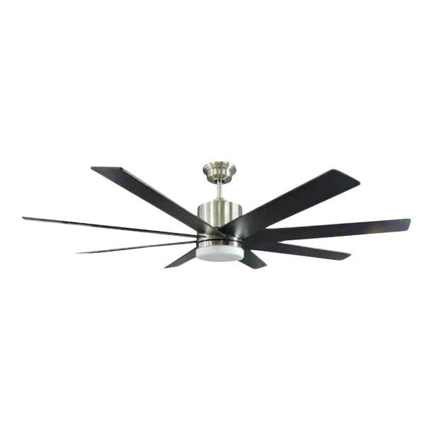 """El abanico de techo Kingsbrook de 60"""" de Home Decorators Collection (Exclusivo en The Home Depot) es tan innovador como hermoso. Este gran y moderno ventilador para habitaciones incluye un potente motor de corriente continua de Tecnolog�a DC para la mejora del ahorro de energ�a y rendimiento en comparaci�n con los ventiladores de motor de corriente alterna est�ndar. El Kingsbrook tambi�n incluye un juego de luces LED integrado que se suma a su eficiencia energ�tica y es pr�cticamente libre…"""