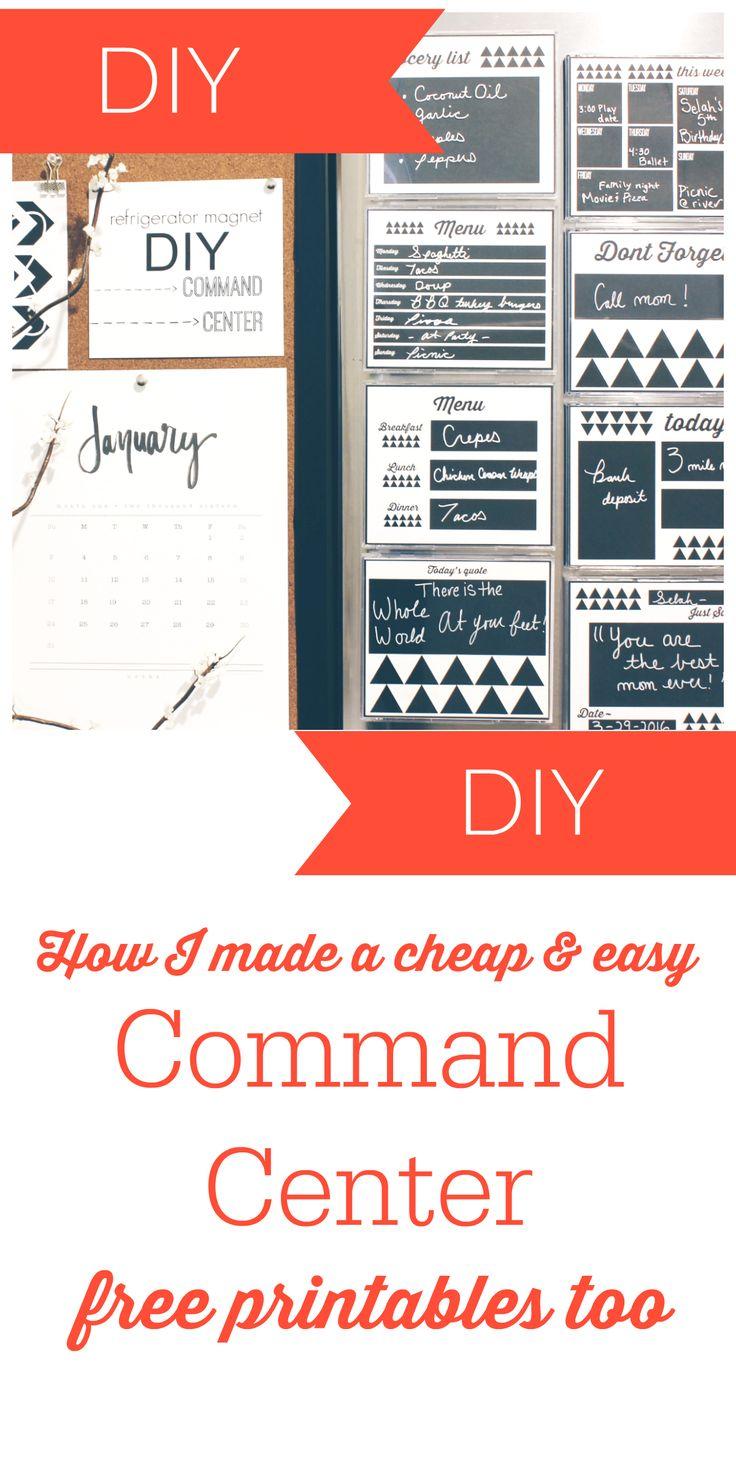 Command Center DIY - Mom Collaborative