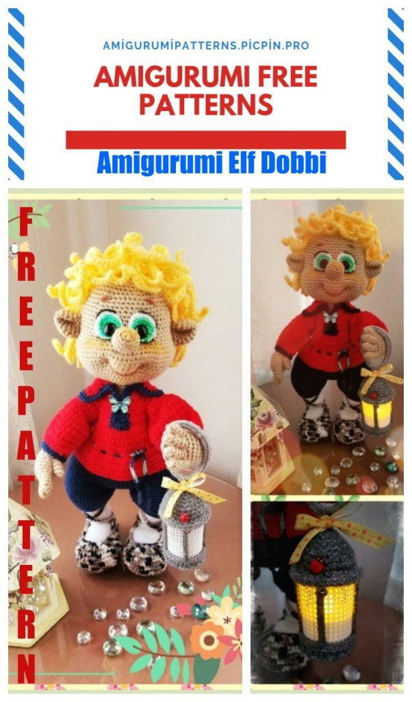 Amigurumi Elf Pachito Free Crochet Pattern - Amigurumi Free ...   1024x602
