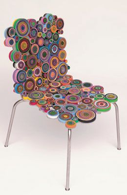 sushi chair by Knoll
