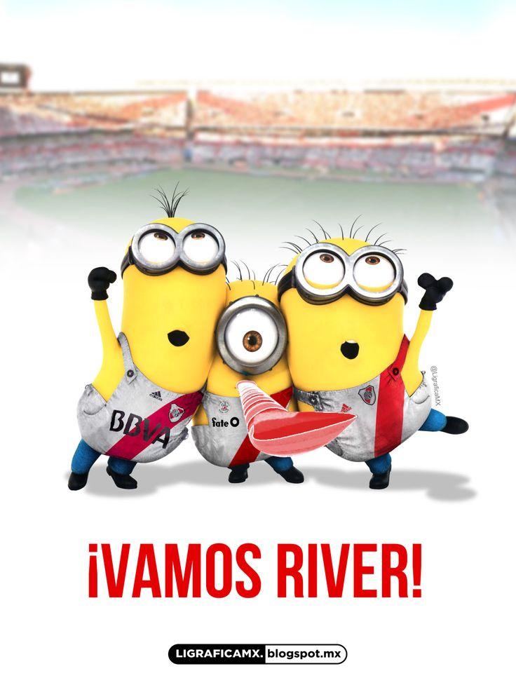 #LigraficaMX #Soccer #Minions #RiverPlate