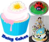 Daisy Cakes - Pretoria & Surrounds, can make cupcakes, cakes, cake pops and biscuits for all occasions. I can provide sheet cakes, 3D cakes, character cakes, edible picture cakes and tiered cakes. I provide party packs and offer cupcake decorating parties.