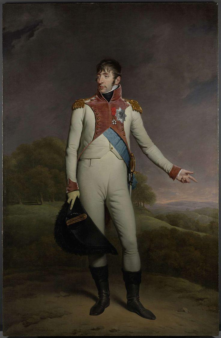 Portret van Lodewijk Napoleon, koning van Holland, Charles Howard Hodges, 1809