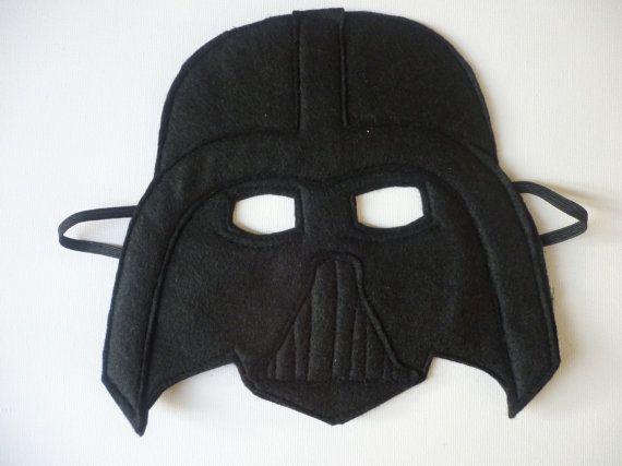 Fühlte sich Darth Vader Stil Maske für Dressing Up/Kostüm/Fancy dress