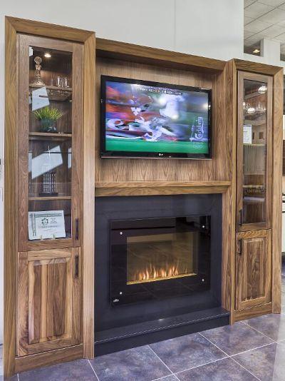 gas fireplace insert entertainment center ideas design