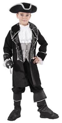 Kara Korsan Kostümü, 7-9 Y Parti Kostümleri - Erkek Çocuk Parti Kostümleri Korsan Kostümleri, Masal Kahramanı Kostümleri: Kostümlü Parti, Kıyafet Balosu, Okul Gösterileri, Korsan Temalı Doğum Günü Partileri için ideal kostüm.  Kostüm şapka, gömlek, ceket ve çizmelikten oluşur. Pantolon ve kanca kostüme dahil değildir! Siyah bir pantolon veya tight üzerine giyilebilir.