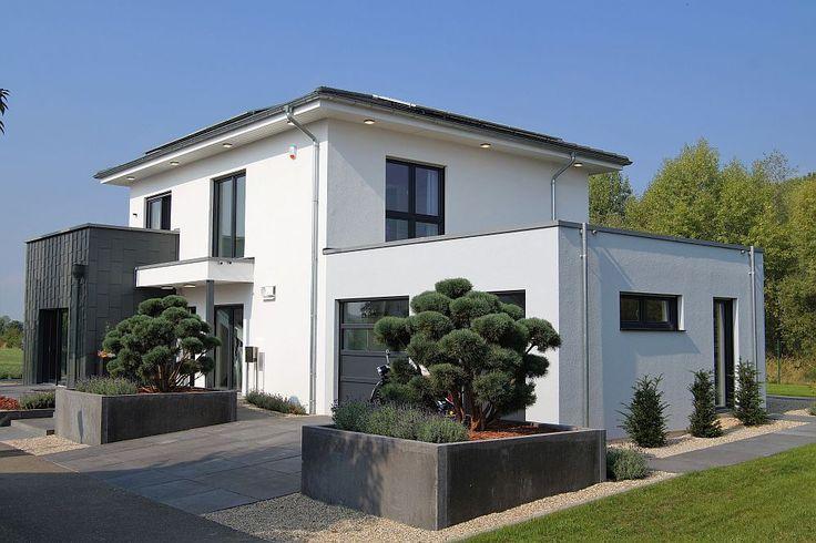 Flach 164 Das 164 m2 Malli Haus mit Flachdach Architecture - minecraft küche bauen