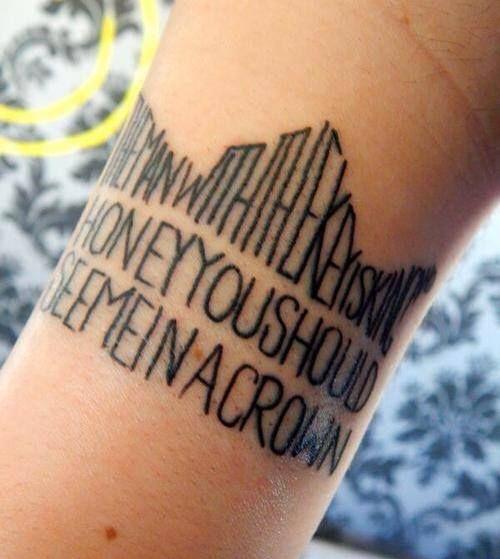 Moriarty (Sherlock BBC) tattoo