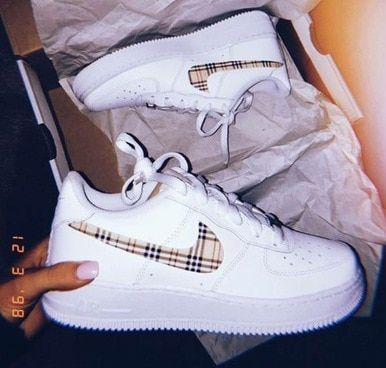 Burberry Airforces (GS and men's sizes) – – #Genel   – inspiration
