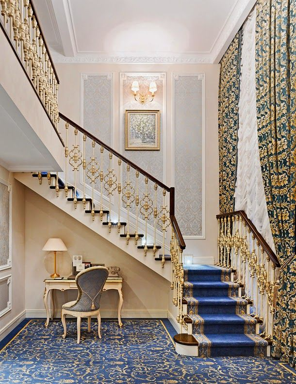 The State Hermitage Hotel in St Petersburg, Russia