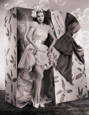 Arlene Dahl // Christmas doll