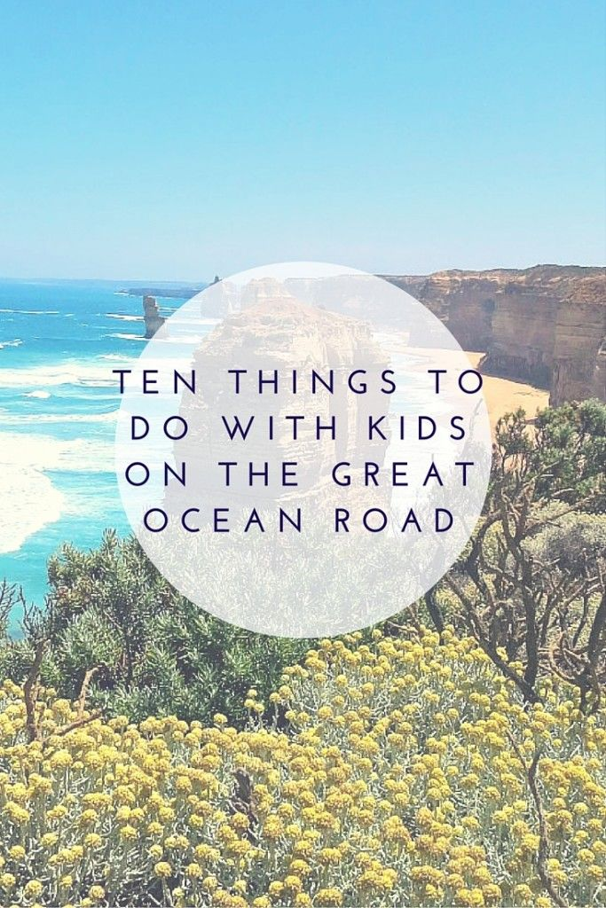 Ten things to do on the Great Ocean Road with kids