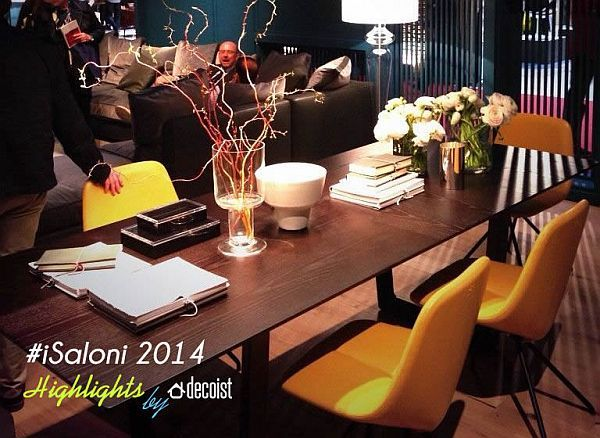 Salone Internazionale del Mobile: #iSaloni Highlights 2014