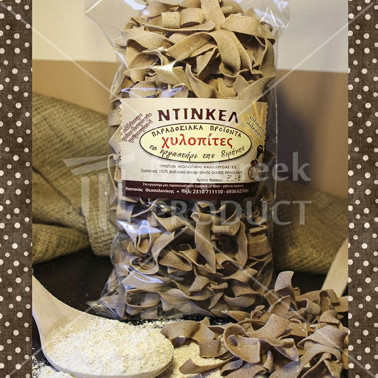 """Noodles (chilopites) with Dinkel  450gr. """"The workshop of Eirini""""  from the Kastania of Thessaloniki. Produced with dinkel flour see more http://mygreekproduct.com/index.php?id_product=60&controller=product&id_lang=1"""
