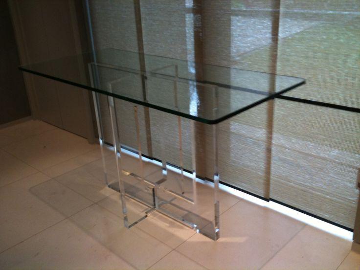 acrylic furniture uk. carewjonescouk ltd custom made acrylic and glass console table tablesacrylics furniture uk c