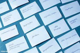 Hääräämö: Sanojen opettelua + ohje