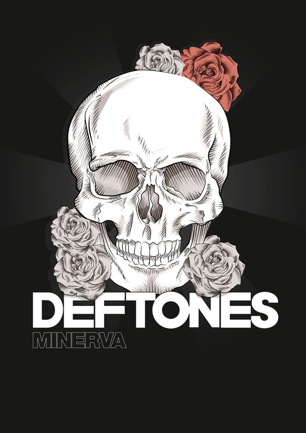 This skull with the red and blue roses from the og cover