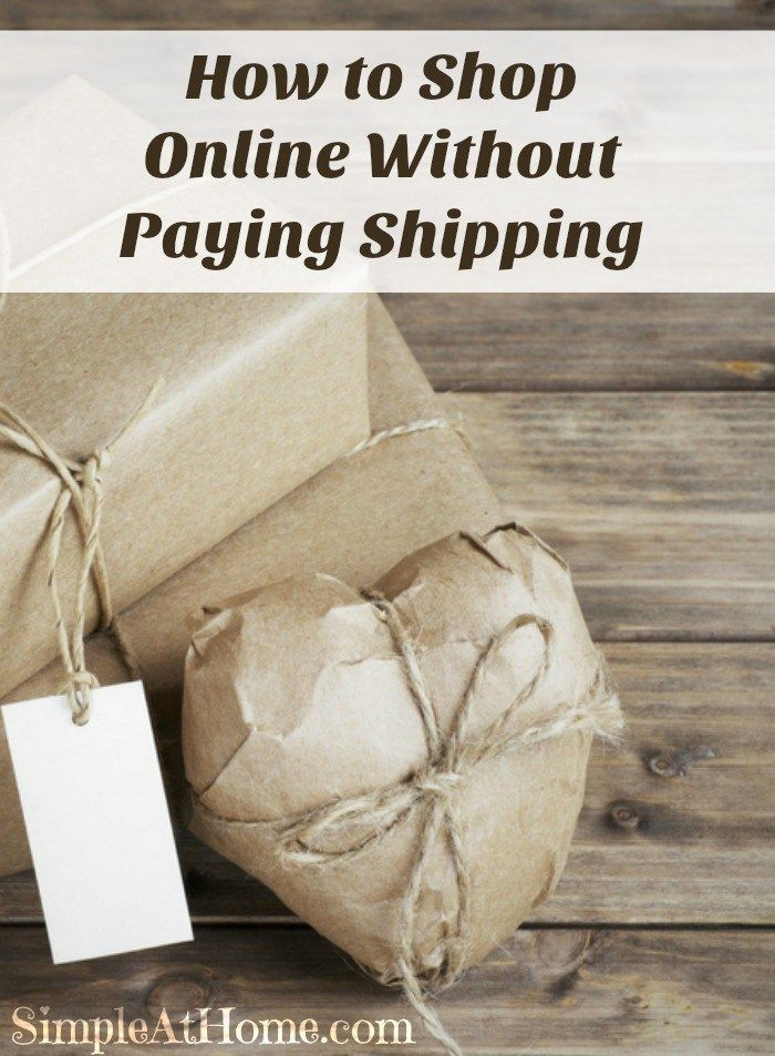 Do your holiday shopping without paying for shipping this year.