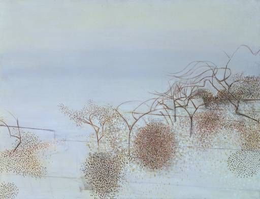 """Victor Pasmore """"The Gardens of Hammersmith No. 2,"""" 1949"""