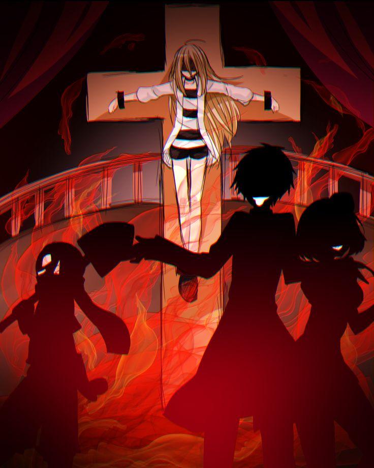 君が笑うまで Angel of Slaughter Fanart Ray, Danny, Eddie, and Cathy