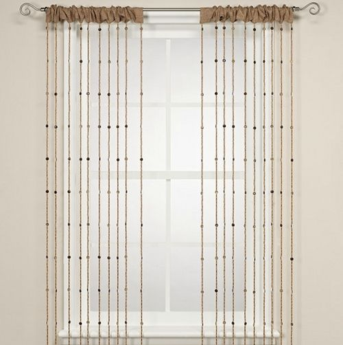 Curtain Call 12 Nifty Window Dressings for the Modern Home. Bead CurtainsWindow ...  sc 1 st  Pinterest & 8 best Beaded Curtains images on Pinterest | Architecture Bead ... pezcame.com