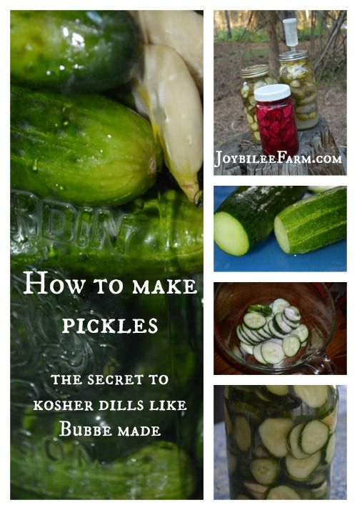 How to make pickles -- the secret to kosher dills like Bubbe made