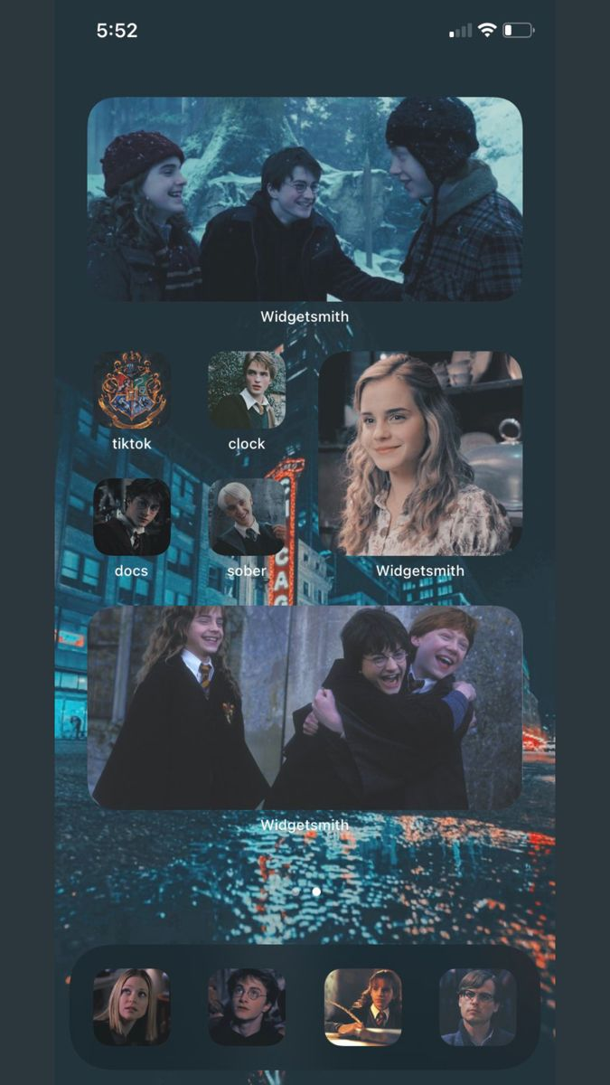 Harry Potter Inspired Ios14 Homescreen Harry Potter Iphone Harry Potter App Harry Potter Phone