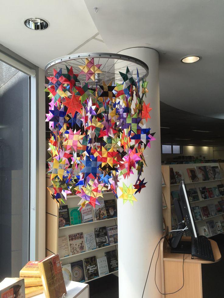 Stars display  Sam Merrifield Library Moonee Ponds