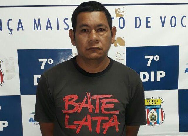 Homem de 42 anos é preso em cumprimento a mandado de prisão preventiva por estupro de vulnerável Investtigadores do 7° Distrito Integrado de