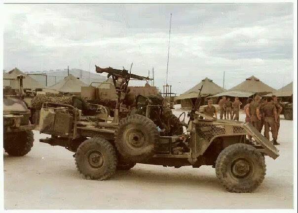 Vehicle used by Pathfinders