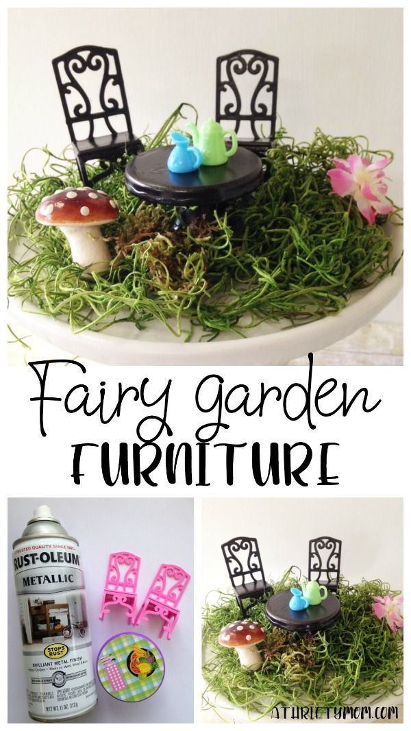 Fairy garden furniture – { Top Bloggers to Follow Today }