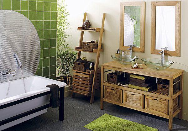 Conseils pour salle de bain exotique