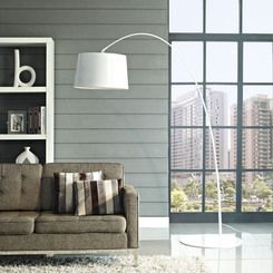 Modway Furniture Liberty Floor Lamp in White