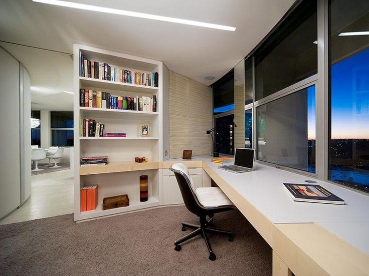 Elegant Home Office Design Idea