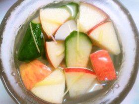 梨とりんごの水キムチ
