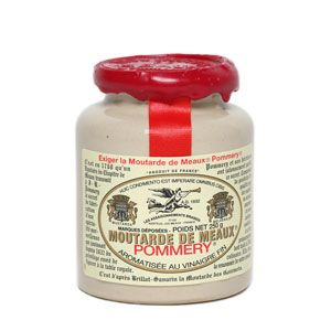 The Moutarde de Meaux® Pommery® 500g with wax- Les Assaisonnements Briards - not sure where mum and dad got this but best mustard ever!