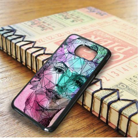 Geometry Watercolor Marlyn Monroe Samsung Galaxy S6 Edge Case