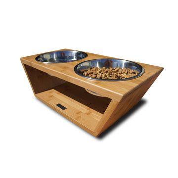 Diner Medium, $79, now featured on Fab. [Pet, dog bowl, Corey Drew, Pet Lounge Studios]