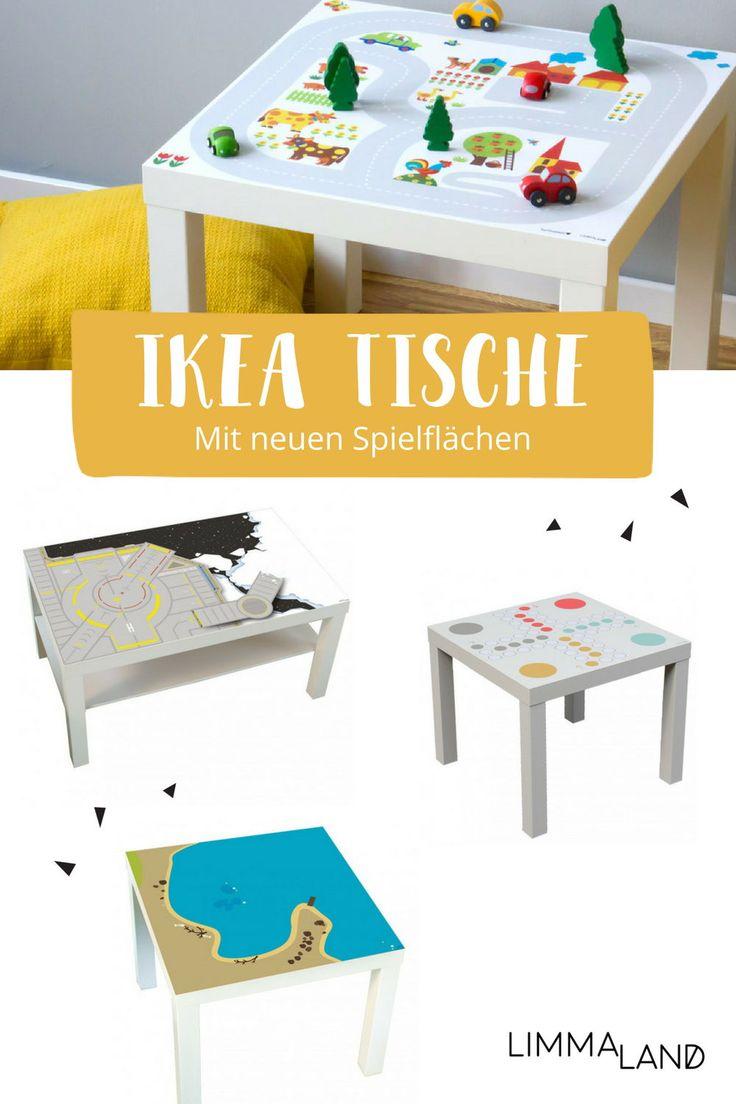 Habt ihr auch zuhause einen der beliebten IKEA Kindertische? Und kennt  ihr schon unsere passgenauen Folien für diese Tische? Sie verschönern  jeden kleinen IKEA Kindertisch. Weltraum, Tiermotive, Tafelfolie oder  hübsche Muster, das Angebot ist groß. Und sicher auch was für deinen  kleinen Künstler dabei. Schaut mal rein! www.limmaland.com #limmaland  #kindertisch #kinderzimmer #ikeahacks