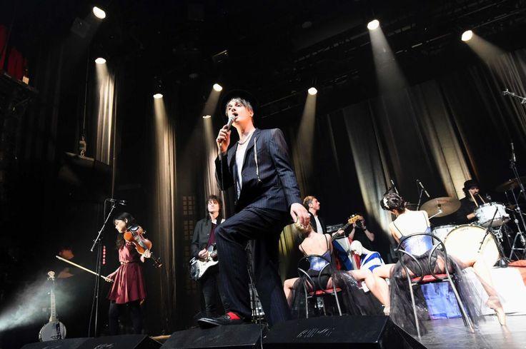 EN IMAGES. Bataclan : Pete Doherty réveille l'esprit rock de la salle